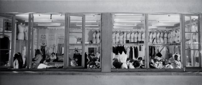 Christian Dior_s Paris Atelier, 1948. Courtesy of Christian Dior Couture Archives.