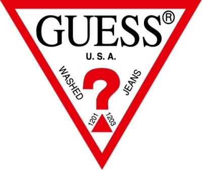 GUESS Red Triangle logo
