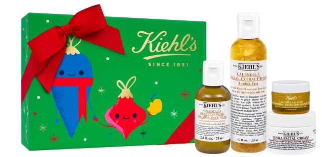 Kiehls Since 1851 Bannecker Feeding America Holiday set