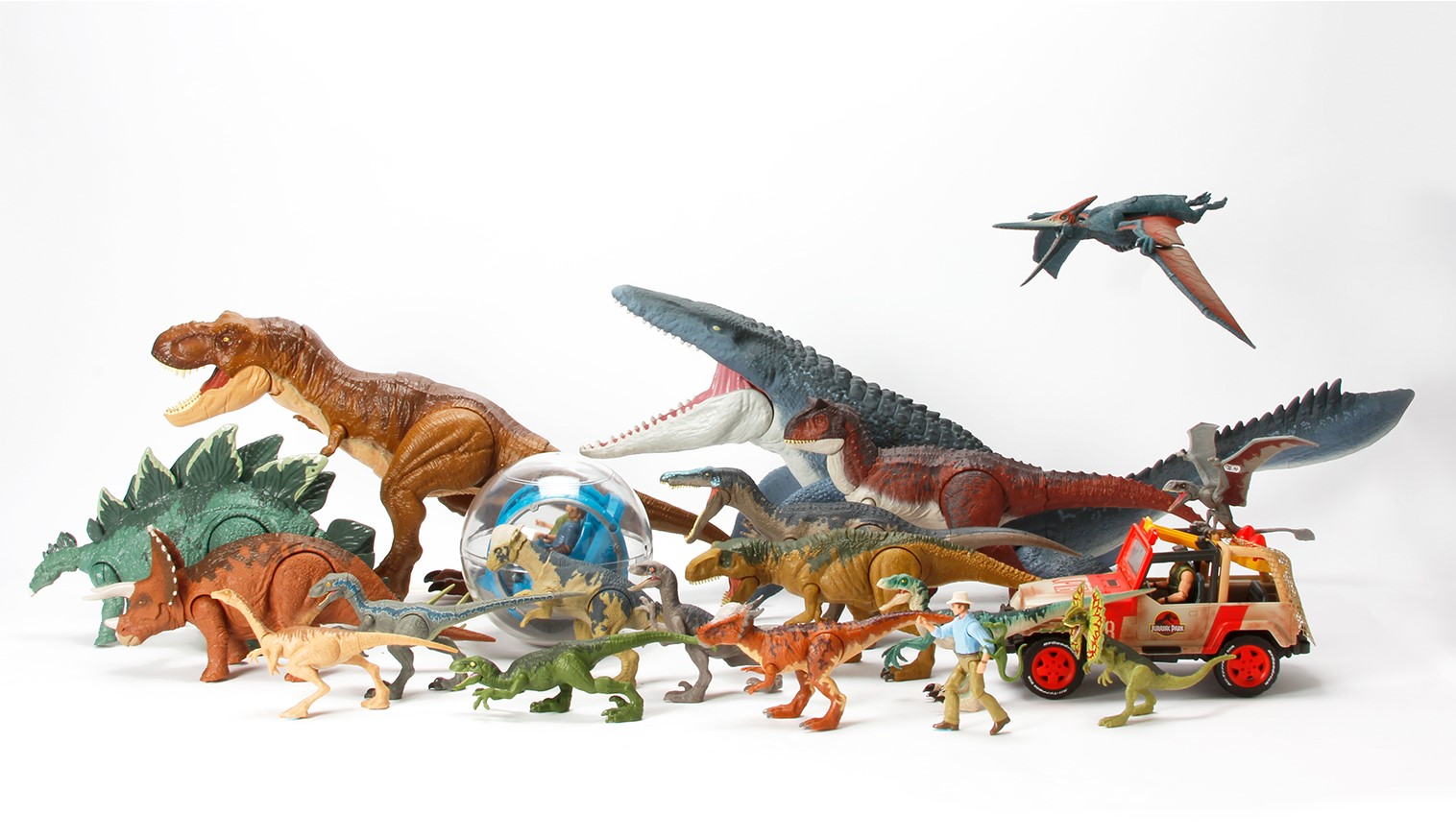 Mattel Jurassic WorldΓäó Dinosaur Action Figures